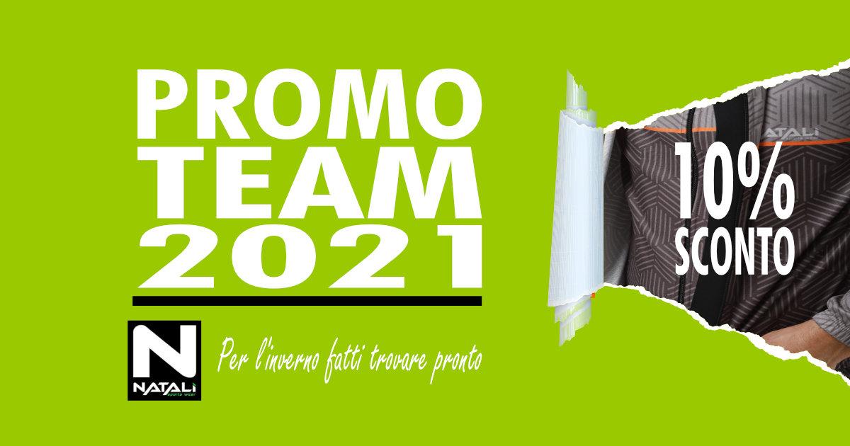 Promo Team Luglio 2021   Abbigliamento Invernale Natali